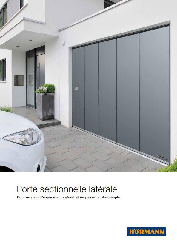 Portes de garage sectionnelles latérales Hormann