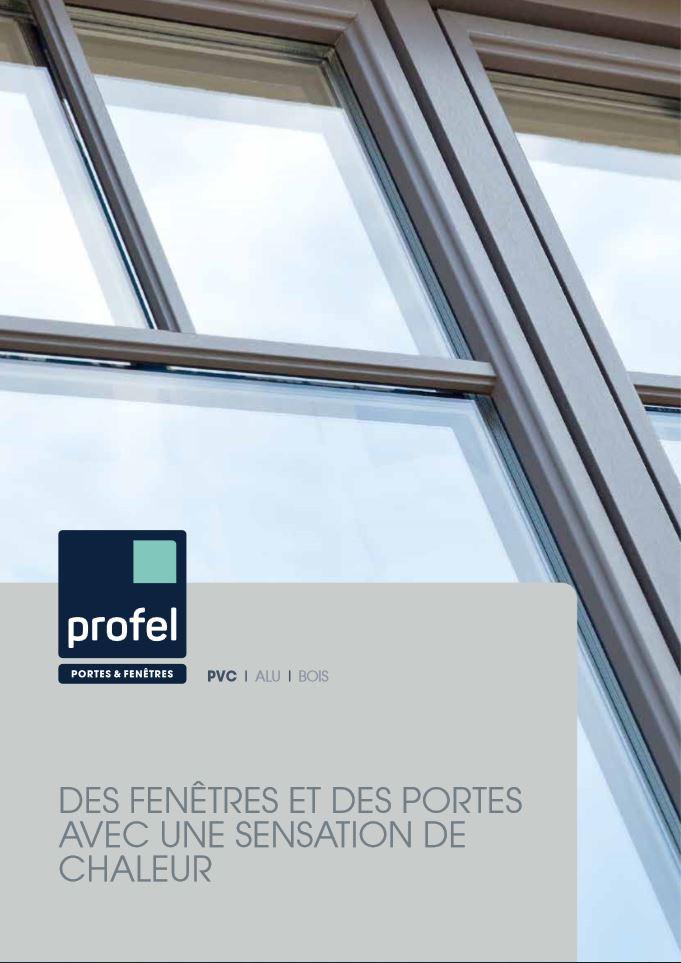 Châssis PVC Profel brochure